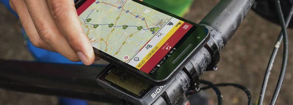 gps velo app mobile